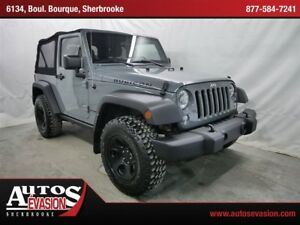 2014 Jeep Wrangler Rubicon 4 X 4 OFF ROAD + MAGS NOIR + GPS +