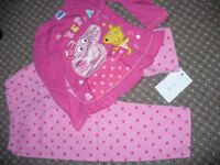 Peppa Pig cotton pyjamas for girl 5-6 years.