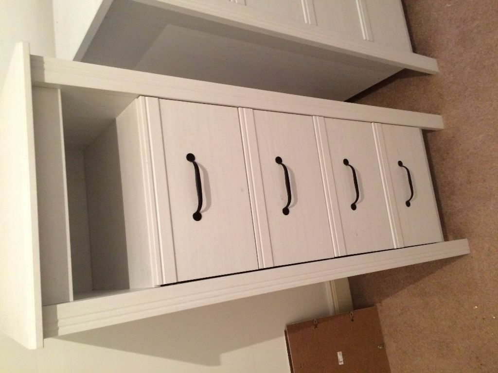 Ready Assembled White Bedroom Furniture Ikea Brusali Tall Boy White Ready Assembled In Airdrie