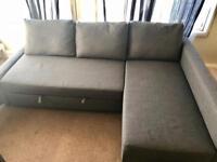 Ikea Corner Sofa-Bea with Storage