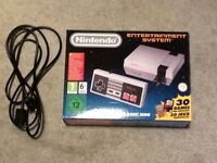 Boxed NES Mini Classic with 1 Controller and extension cable