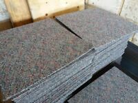Carpet tiles for sale just 90 pence each 2 colour options ideal for shops, office, spare rooms