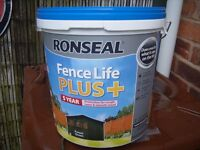 ronseal fence life+ 5 years