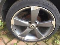 Audi s3 wheels 18s on a vw golf read add before u ring or text