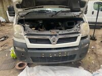 Vauxhall movano 2.5 dci 2006 to 2010 breaking