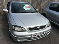 Vauxhall Astra 1.6 - low milage - perfect example