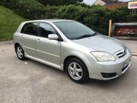 **TOYOTA COROLLA COLOUR COLLECTION 1.4 DIESEL (2005 YEAR)**