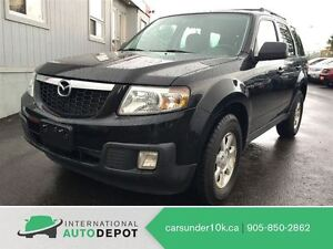 2010 Mazda Tribute GX V6 4x4 / MOONROOF / ALLOYS