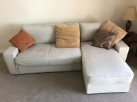 L shaped sofa bed with storage