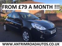 2010 RENAULT CLIO EXTREME ** ONLY 30,000 MILES ** FINANCE AVAILABLE WITH NO DEPOSIT