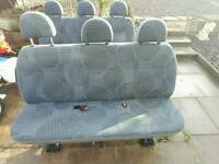 transit crew van seats