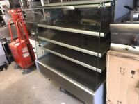 HOT FOOD DISPLAY CABINET FAST FOOD CAFETERIA BBQ RESTAURANT PIZZA TAKE AWAY SHOP CATERING COMMERCIAL