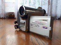 Panasonic NR-GS4 mini digital camcorder.