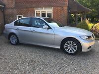 BMW 3 Series Saloon E90 320d SE 2006, Silver, 6 Speed Manual, FSH MOT 05/2018