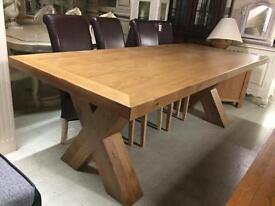 Large solid oak table sale all tables reduced