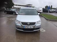 Volkswagen Touran 2.0 TDI DPF Sport MPV DSG 5dr (7 Seats) cambelt done bey 140050