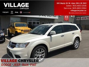 2017 Dodge Journey GT|Sunroof|DVD|Leather|7 Seaters|Remote