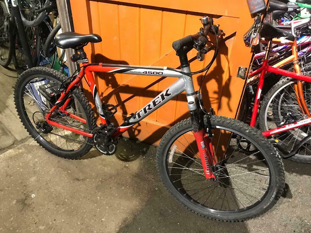 7b155410c84 Trek Alpha 4500 Mountain Bike. Refurbished. Free Lock, USB Lights, Delivery