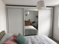 2 German made wardrobes with sliding doors - excellent condition