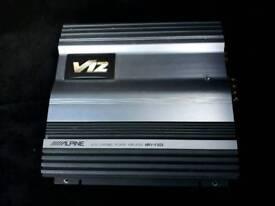 alpine v12 4ch amp amplifier loud power sound