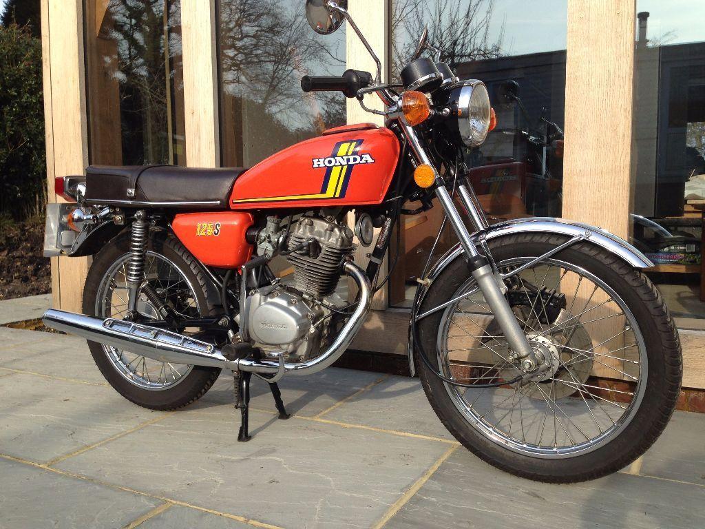 1976 honda cb125j motorcycle restored original in for Cheap honda motors for sale