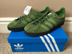 Brand New UK7 Adidas Ardwick X Oi Polloi Spezial Forest Green, 100% Authentic £400, supreme air max