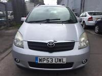 TOYOTA COROLLA VERSO 1.8 VVT-i T3 5dr, FULL SERVICE HISTORY, ONE PREVIOUS OWNER