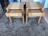 M&S Sonoma side tables x2 (pair)