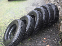 Michelin Radial Tubeless part worn (only 100 miles on them) tyres
