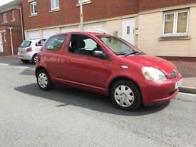 2002 Toyota Yaris Vvti 1.0L, MOT Jan 18, no advisories, service history