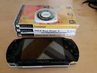 PSP portable console