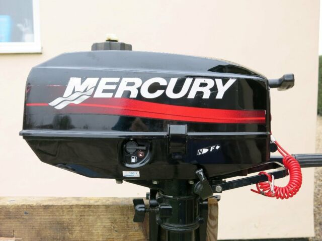 Mercury 3 3 hp, long shaft, two stroke outboard with forward and neutral  gears  | in East Bergholt, Essex | Gumtree