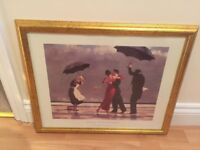 The Singing Butler by Jack Vettriano Gold Framed Picture Wall Art