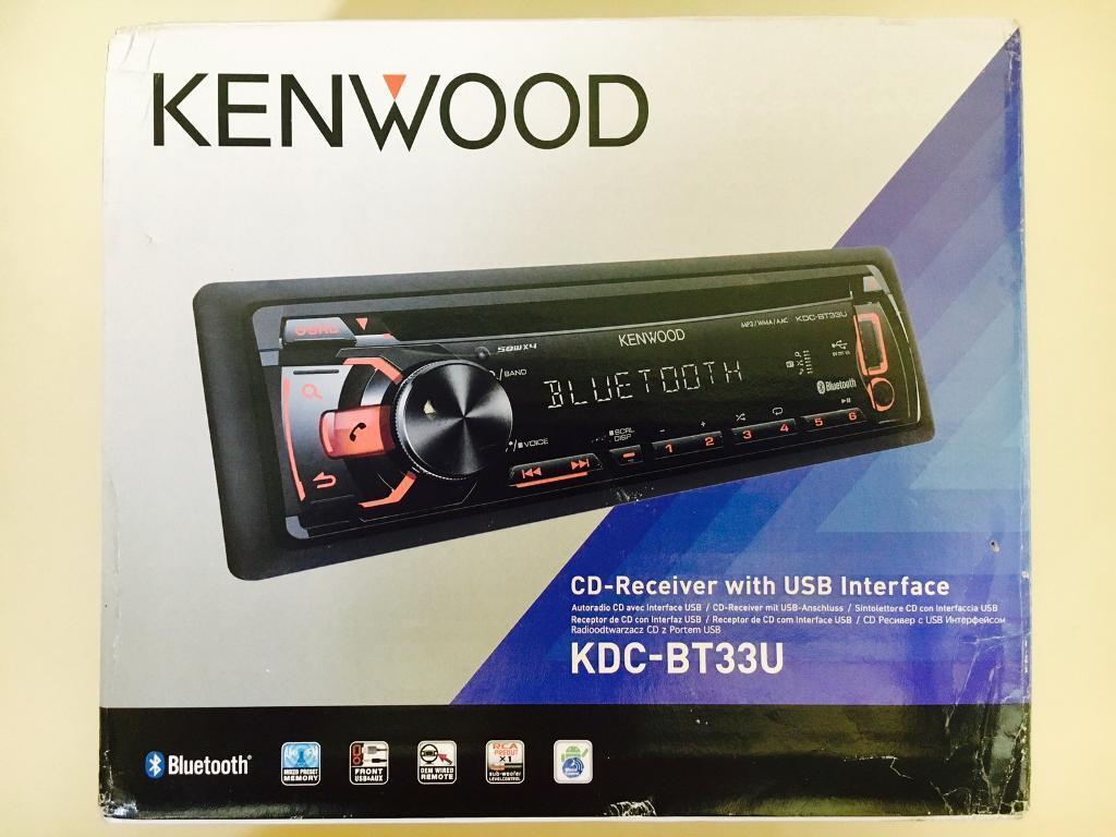 Kenwood Car Stereo Built In Micbluetoothusbauxcdradio Audio Micbluetoothusbauxcd