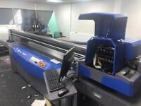 Flat bed UV printer