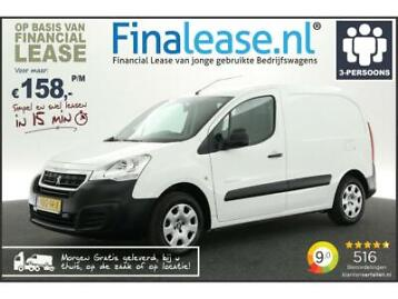 Peugeot Partner 120 1.6 BlueHDi Airco Cruise PDC €158pm