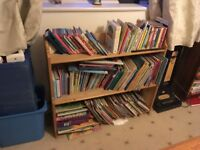 Children's pine bookcase