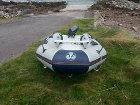 Yamaha 3.8m inflatable dinghy