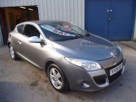 Renault MEGANE Dynamique VVT,1.6 cc 3 door hatchback,new shape,runs and drives well,YY09RXF