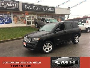 2014 Jeep Compass NORTH 4X4 LEATH ALLOYS HTD-SEATS *CERTIFIED*