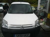 CITROEN BERLINGO FIRST 1.6 HDi 5dr FIRST 750 HDI, WILL HAVE FULL MOT, EX PAINTERS VAN, PLY LINED