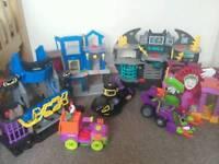 7 imaginext toys