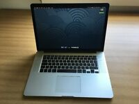 Macbook pro 15 inch, mid 2015 model