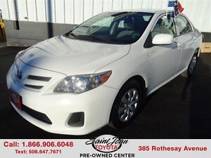 2013 Toyota Corolla CE with Air + Cruise $98.99 BI WEEKLY!!!