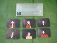 Set of 6 Ella Doran Famous Composers Cork Backed Coasters for Only £2.00