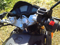 Skyjet 125 / 26 motorbike, good condition, unused on the road