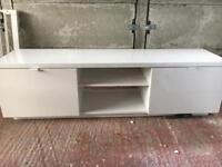 TV stand - white gloss
