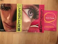 Foundation & Professional NVQ Level 2 & 3 Beauty Therapy HABIA C&G Guide Books + Key Terms Book