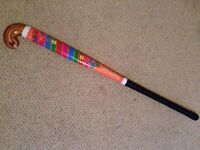 Slazenger hockey stick, wooden, great for a first stick or a child!