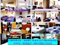 HOLIDAY & SHORT TERM RENTALS - 3 & 4 BEDROOM PROPERTIES
